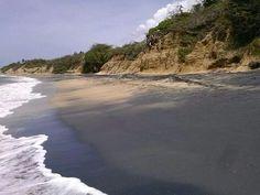 Black Sand Beach, Vieques Puerto Rico , Photo by Iris Encarnación