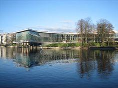 Halmstad Library, Sweden ( Arch bureau Schmidt Hammer Lassen, Denmark)