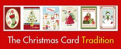 Blog - The Christmas Card Tradition -Paper Craft Products