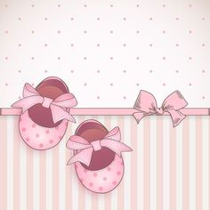 "Photo from album ""Set of baby booties and decorative backgrounds"" on Yandex. Tarjetas Baby Shower Niña, Imprimibles Baby Shower, Scrapbook Bebe, Scrapbook Paper, Album Baby, Baby Motiv, Baby Girl Clipart, Diy And Crafts, Paper Crafts"
