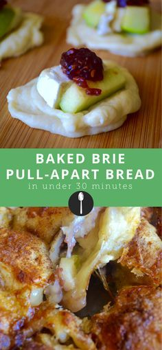 30-Minute Baked Brie Pull-Apart Bread