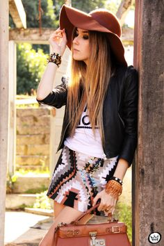 Look Du Jour: Same Love  #Hats #Leather #Jackets #Graphic #T-Shirts