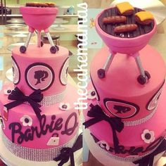 #TBT A Barbie-Q cake! Get it!?... ghetto fabulous