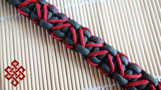 How to Make a Solomon's Stitched Hearts Paracord Bracelet Tutorial