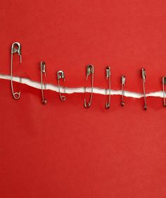 Safety pins holding fabric together   It's more common than you may think. Not-close siblings slowly drift apart. Or a huge family feud turns into a frost. Here's how to close the gap before it's too late—and initiate contact when it's time.