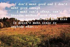 I Want Crazy~ Hunter Hayes