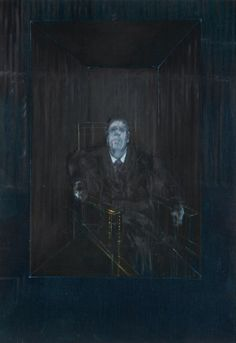Francis Bacon:   Study for a Portrait   (1953)