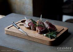 Oak Steak Plate