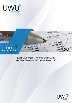 Sabe que despesas pode deduzir na sua próxima declaração de IRS - 2013? by UWU Solutions, Lda. via slideshare