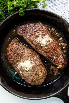 How To Pan Fry The Perfect Steak Steak Recipes Pan
