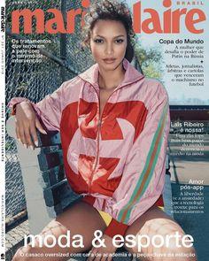 Lais Ribeiro for Marie Claire Brasil June 2018 V Magazine, Fashion Magazine Cover, Magazine Covers, Lais Ribeiro, Marie Claire, Vanity Fair, Naples, Vogue, Nylons