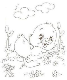 Embroidery Patterns Tree Baby Coloring Pages 65 Ideas Baby Embroidery, Hand Embroidery Designs, Embroidery Stitches, Embroidery Patterns, Stitch Patterns, Baby Coloring Pages, Coloring Sheets For Kids, Animal Coloring Pages, Coloring Books