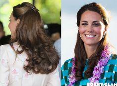 Kate Middleton's Hair half-up half-down