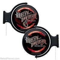 H-D Winged Wheel Pub Light #harley  http://www.retroplanet.com/PROD/31734