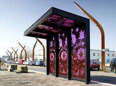 Bus Shelters by FAT Architecture