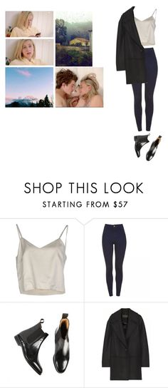 """""""НРК"""" by asmin ❤ liked on Polyvore featuring Erika Cavallini Semi-Couture, Loake, Proenza Schouler, noora and skam"""