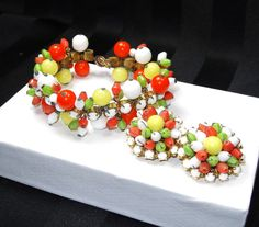 ஜ Vogueteam Multi Color Madness Jewelry ஜ by Jewelry Quest on Etsy