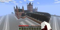 Image result for minecraft train depot schematic