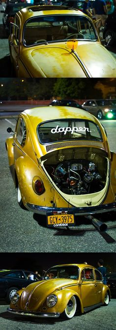 Slammed Vw beetle...Re-pin brought to you by agents of #Carinsurance at #HouseofInsurance in Eugene, Oregon...Call for a Ins. Quote 541-345-4191