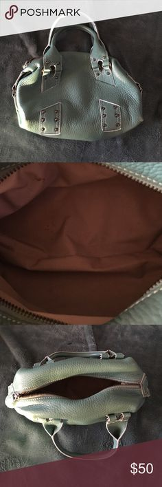 Vintage Cole Haan hand bag Some wear but in good condition. Worth fixing up. Cole Haan Bags Mini Bags