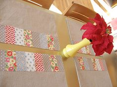 Handmade Patchwork Placemats! by backhomeagainvintage, via Flickr