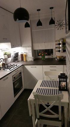 Kitchen Room Design, Home Room Design, Home Decor Kitchen, Kitchen Living, Interior Design Kitchen, Home Kitchens, Small Apartment Kitchen, Küchen Design, Home Decor Inspiration