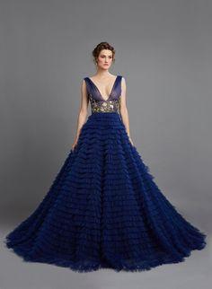Hamda Al Fahim Haute Couture Весна-Лето 2015 Royal Blue Dresses, Blue Wedding Dresses, Beautiful Gowns, Beautiful Outfits, Dream Dress, Pretty Dresses, Dress To Impress, Ball Gowns, Prom Gowns