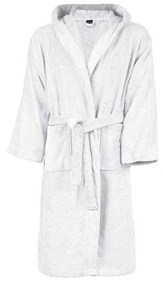 Peignoir de bain - coton velours - K119 - blanc Fashion, Dress, Velvet, Cotton, White People, Woman, Moda, Fashion Styles, Fasion