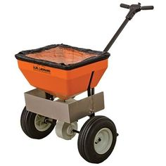 AM Leonard Broadcast Spreader with Deflector  70 Pound Capacity *** More info could be found at the image url.