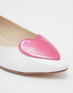 Image 4 of ASOS LONG TIME Pointed Ballet Flats