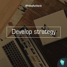 Develop strategy.  Did you know developing a social media strategy is a more common challenge among small businesses (55 percent)? Is this a challenge for you too? We can help just click link on bio :)