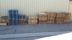 Today we were able to recycle 98 wood pallets.  Just another one of the many items we take here at Salt Lake Community College!