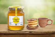 Curved Honeycomb Label Set Design Mock Up
