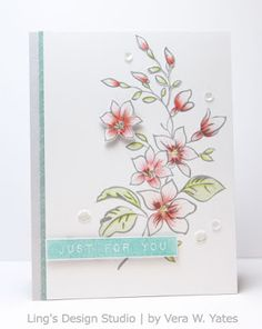 Ling's Design Studio: Altenew - Celebrating Parents Card Drive Blog Hop