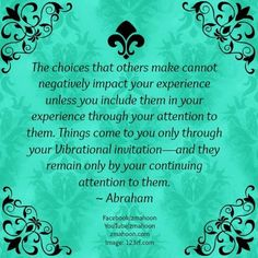 Absolutely love this. You can only be bothered if you allow that negativity to be apart of your experience here.