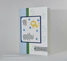 Zoo Babies, Kids Card, Kinderkarte, Birthday, Kindergeburtstag, Stampinglinde
