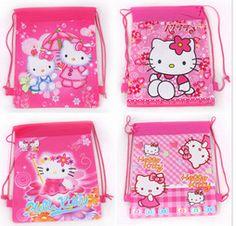 Hello Kitty Drawstring Bags 2pcs //Price: $6.99 & FREE Shipping // World of Hello Kitty http://worldofhellokitty.com/2pcs-lot-2016-hot-hello-kitty-kt-cat-double-sided-printing-beam-port-non-woven-bags-drawstring-schoolbag-child-student-study-up/    #hellokitty