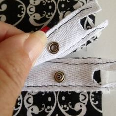 Learn how to sew snap tape to close a pillow back. Very quick, simple and almost invisible.
