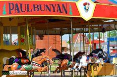 Carousel at Paul Bunyan Land, Brainerd, Minnesota