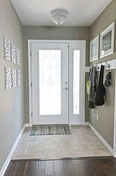 For the kitchen between garage and dining door
