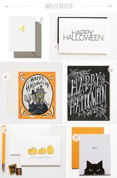 Oh So Beautiful Paper: Seasonal Stationery: Halloween