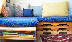 How to Upcycle a Pallet into a Couch