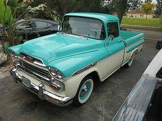 1959 Chevy Apache Shortbed Fleetside