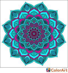 Mandala Drawing, Mandala Painting, Mandala Tattoo, Adult Coloring Pages, Coloring Books, Desenhos Love, Hippie Art, Mandala Pattern, Mandala Coloring