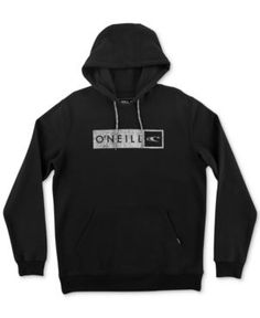 O'Neill Men's Framed Logo Pullover Hoodie - Black 2XL