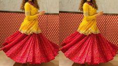 Lehenga With Kurti Designs | Kurti Skirt Suits | Punjabi Kurti With Skir... Kurti Skirt, Party Wear Indian Dresses, Skirt Suit, Lehenga, Suits, How To Wear, Design, Fashion, Moda