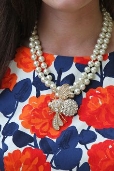 Classy Girls Wear Pearls: Florals & Hedges