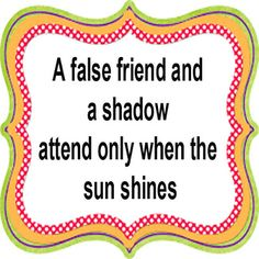 Amazing Offers And Deals: False friend