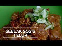 RESEP SEBLAK TELUR SOSIS ALA SUKABEDA - YouTube Beef, Youtube, Food, Meat, Meal, Eten, Meals, Ox, Ground Beef