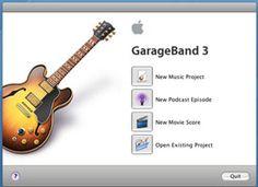 GarageBand tutorials for students (or music teachers...)